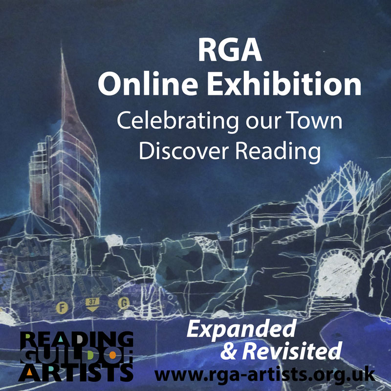 Online exhibition poster