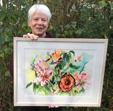 Carole Stephens with Yourshire Rose